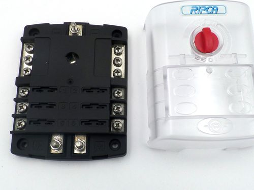 6 Pole Automotive Marine ATC Blade Fuse Box