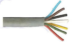 7 Core 12s Grey Standard Wall Multicore Trailer Cable