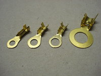 Automotive Brass Double Crimp Ring Terminals