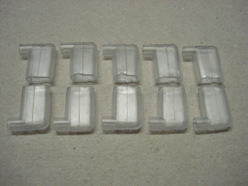 Insulation Cover For Brass Flag Crimp Terminal 10 Pack