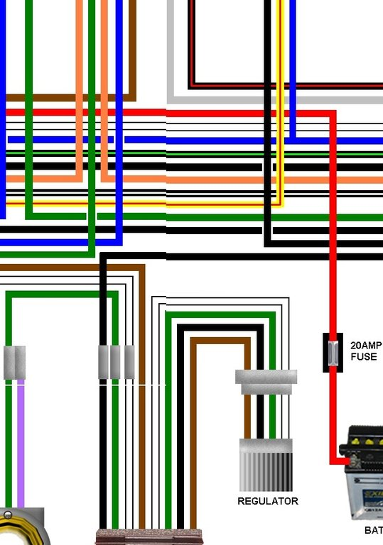 Royal Enfield Bullet 350 500cc Usa Spec Wiring Loom Diagram