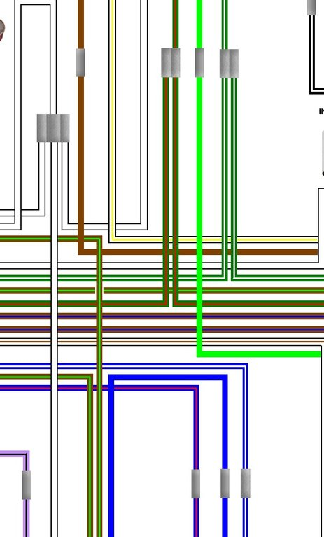 Triumph T120 Colour Electrical Wiring Diagram