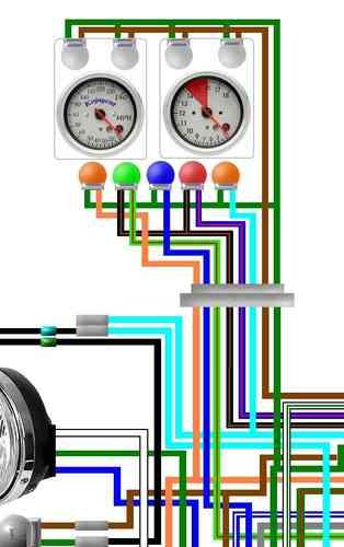 Honda CB900F Colour Motorcycle Wiring DiagramsKojaycat
