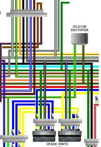 honda cb750f cb750k cb750c wiring circuit diagrams rh kojaycat co uk Simple Wiring Diagrams Light Switch Wiring Diagram