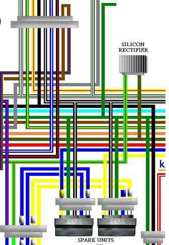 honda cb750f cb750k cb750c wiring circuit diagrams rh kojaycat co uk