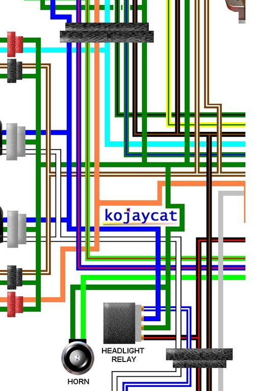 Honda Cbr250rr J Mc19 1988 Uk Spec Colour Wiring Loom Diagram