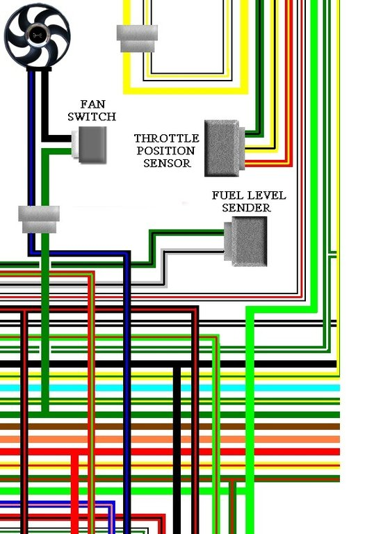 honda xl650v 2000 02 uk spec colour electrical wiring diagram. Black Bedroom Furniture Sets. Home Design Ideas