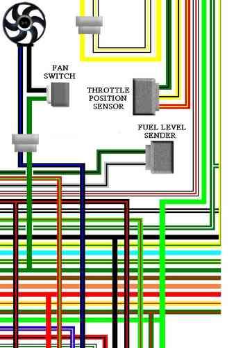 honda xl650v 2000-02 uk spec colour wiring diagram