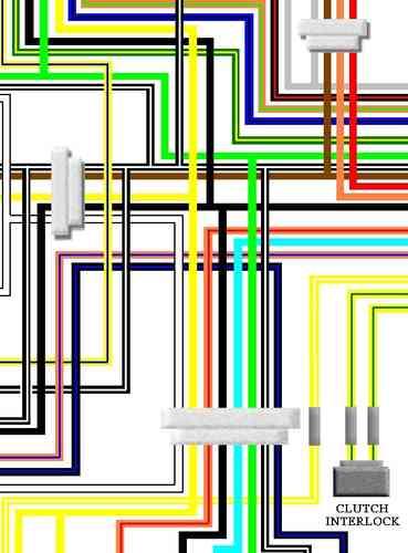 Suzuki GSXR1100 Colour Electrical Wiring DiagramKojaycat