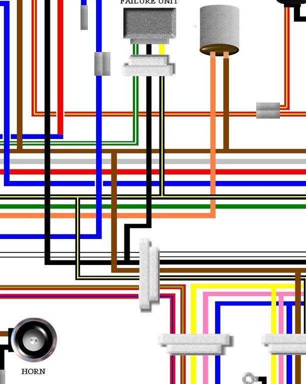 Kawasaki Z900 Z1 Euro Spec Colour Electrical Wiring Diagram