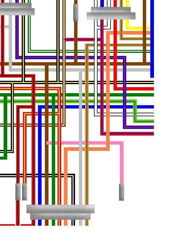 [SCHEMATICS_4PO]  Kawasaki KZ650 H2 1981 USA Spec Colour Wiring Harness Diagram | Kz650 Wiring Diagram |  | Kojaycat