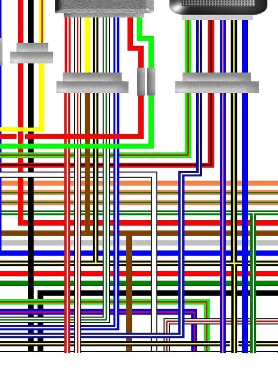 Kawasaki Kz750 H1 Usa Spec Colour Wiring Loom Diagram