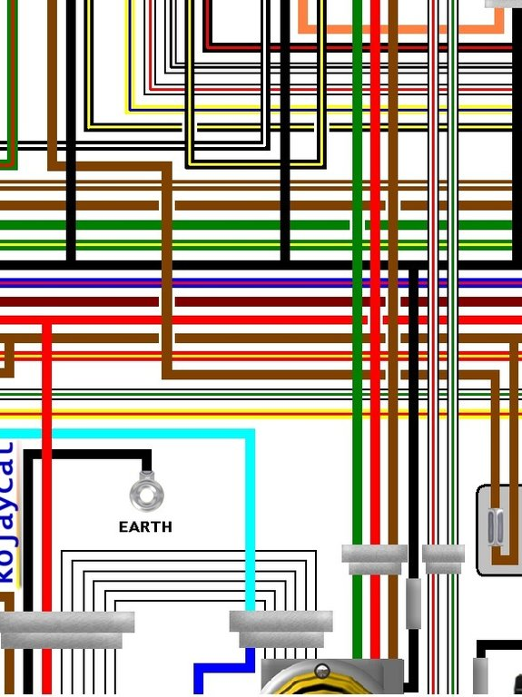 Yamaha Rd350 Lc 11 31k Uk Spec Colour Electrical Wiring Diagram