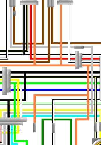 Suzuki_TS100_colour_wiring_loom_diagram_m suzuki ts100 er uk spec colour wiring loom circuit diagram