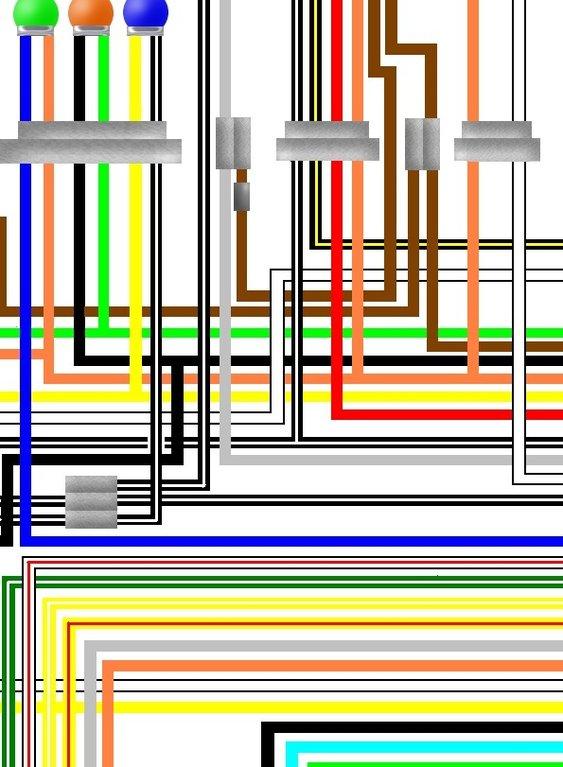 Suzuki TS250 ER 1979 USA Spec Colour Wiring Diagram on suzuki samurai radio wiring diagram, 1997 suzuki gsxr 600 wiring diagram, suzuki 400 2007 wiring diagram, suzuki step 125 wiring diagram, 1988 suzuki gsx 600 coil wiring diagram,