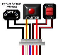 suzuki t500 1969 75 general spec a3 colour wiring loom diagram rh kojaycat co uk