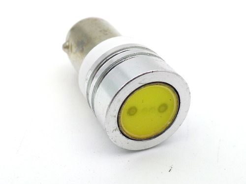 LED 12 Volt 23 Ma BA9S White Automotive Bulb
