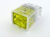 Helacon 2 Way Cable Wire Yellow Connector