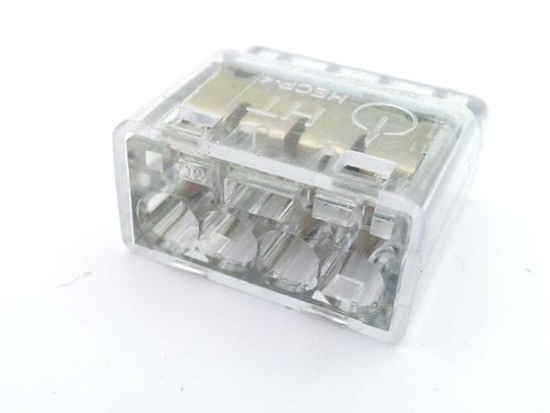 Helacon 4 Way Cable Wire Clear Connector