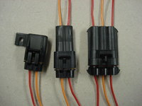 Delphi Metri-Pack 630 Series Wiring Loom Connector (46 Amps).