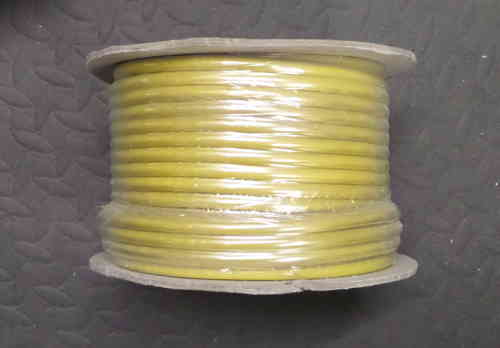 8.5mm² 120/0.30 60 Amp Standard Wall Yellow Cable 30m