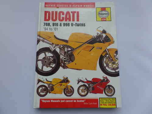 Used Haynes Ducati 748 916 996 Manual