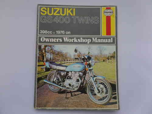 Haynes Suzuki GS400 Twin Manual
