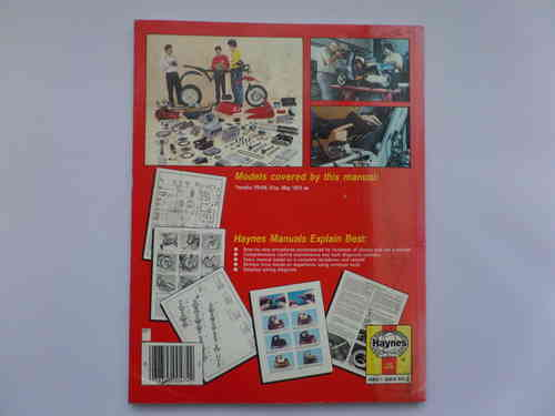haynes yamaha yb100 singles workshop maintenance manual rh kojaycat co uk Yamaha SR500 Yamaha YL1