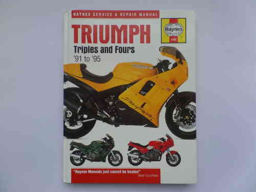 Haynes Triumph TRiples and Fours Manual