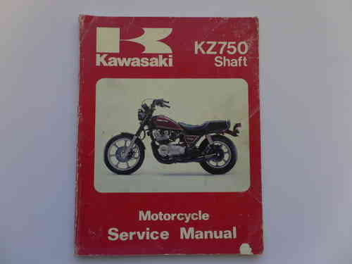 Used Kawasaki KZ750 N1 P1 Shaft Factory Manual