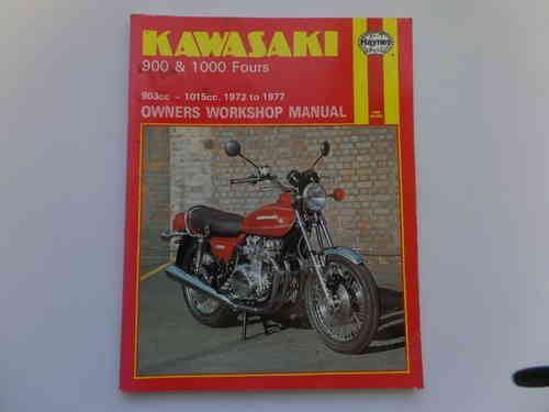 Used Kawasaki Z1 Z900 Z1000 Haynes Manual 2