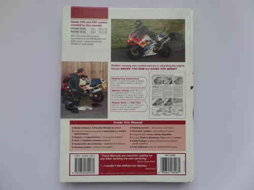 haynes honda vfr400 nc30 rvf400 nc35 workshop maintenance manual rh kojaycat co uk Honda NSR 400 Honda CBR400