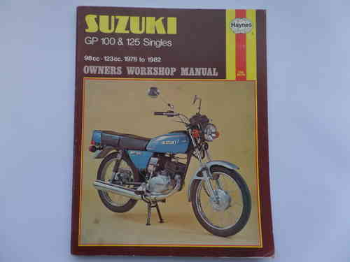 Haynes Suzuki GP100 GP125 Manual