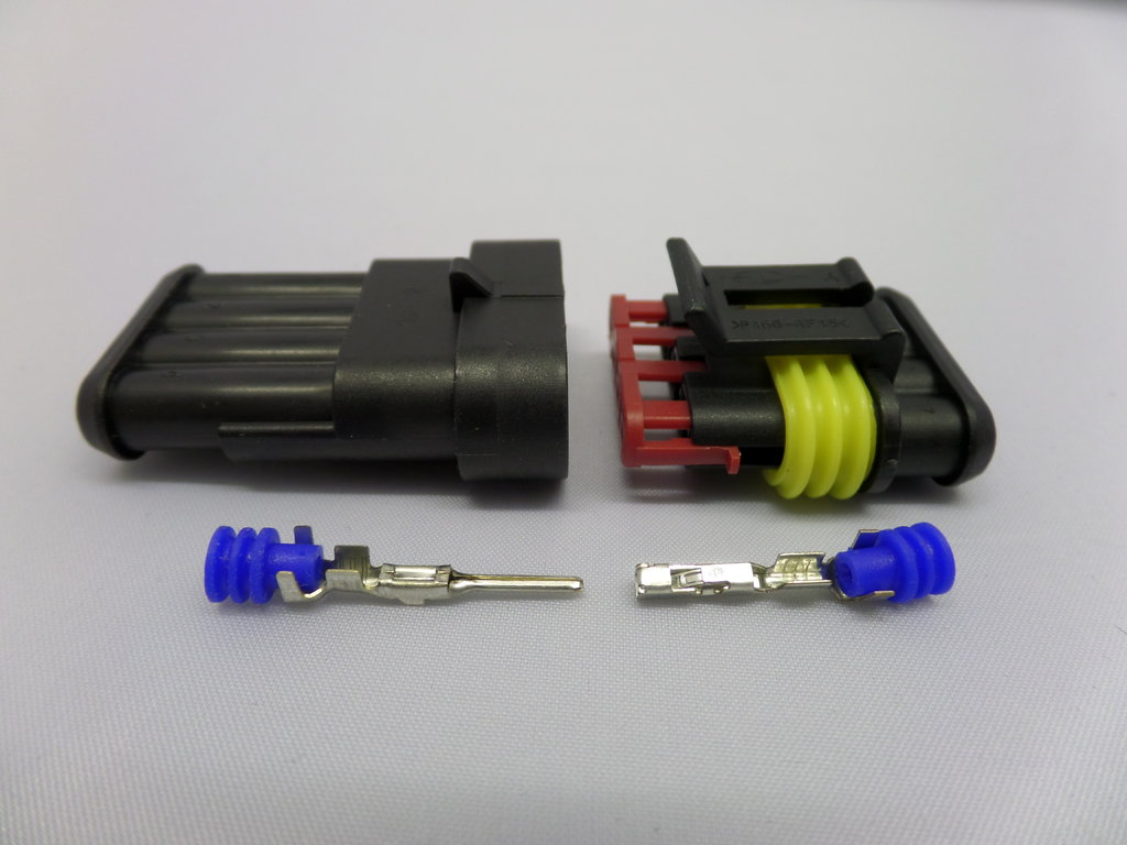 Category 4 on oem automotive wiring harness connectors