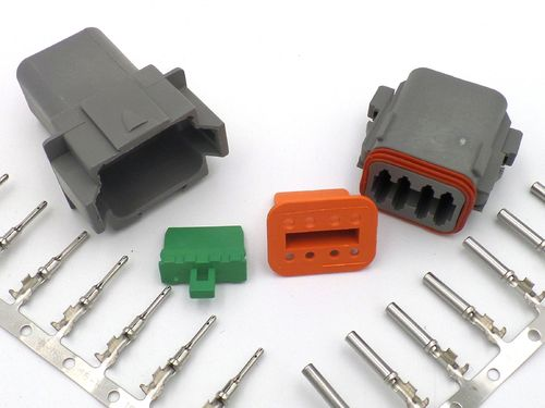 Deutsch DT 8 Way Wiring Loom Connector DT06-8S DT04-8P