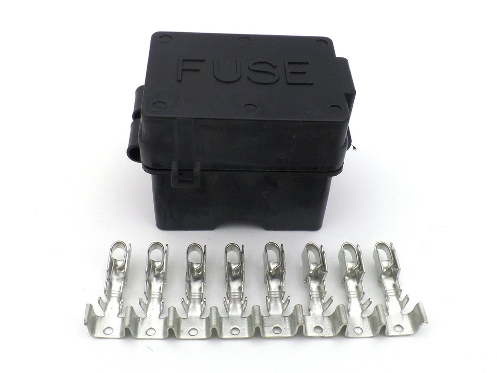 automotive low voltage (60v) fuse boxes for vehicles and boats antique old fuse  box