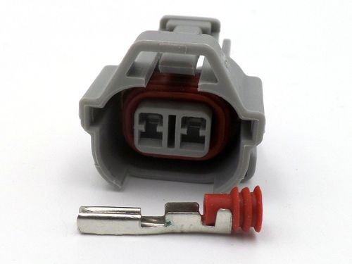 2 Way Denso Fuel Injector Bottom Plate Connector Plug