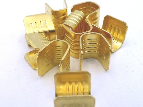6mm² - 10mm² Vehicle Wire Crimp U Joint Terminal 10 Pack