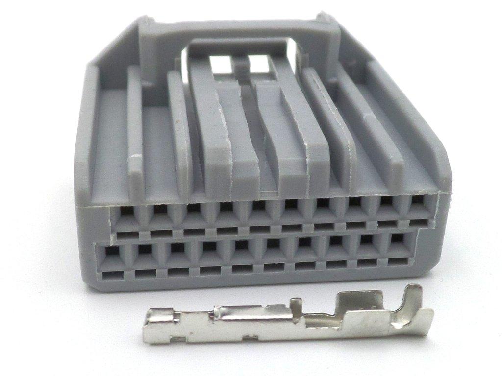 20 Way Grey Yamaha Fjr Speedo Clocks Wiring Loom Connector Plug