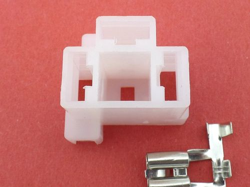 3 Way H4 White 12v Motorcycle Vehicle Headlight Connector Plug