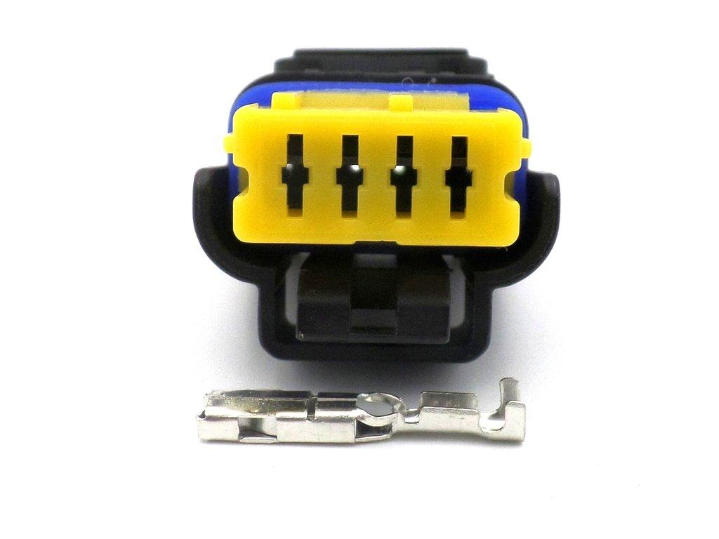Ducati And Mv Augusta Wiring Loom Connectors Adaptor Leads 4 Way Plug Can Bus Fci Sicma Connector