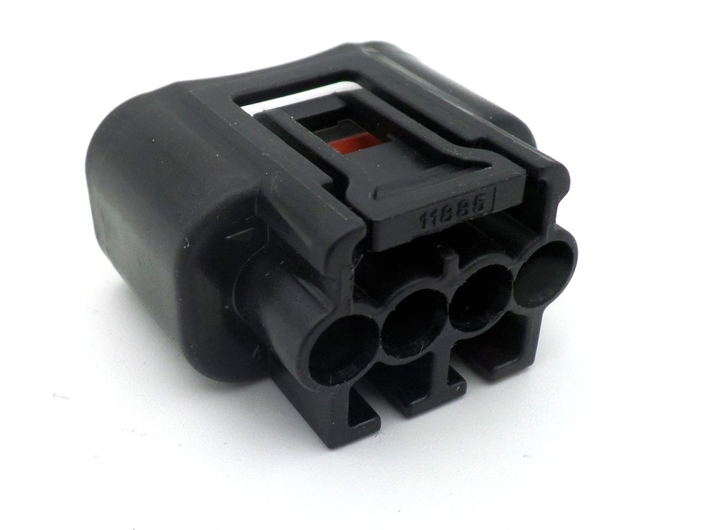 4 Way Black Toyota Ignition Coil Wiring Connector Plug