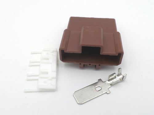 3 Way Brown 7.8mm HD (305) Series Male Connector Compufire