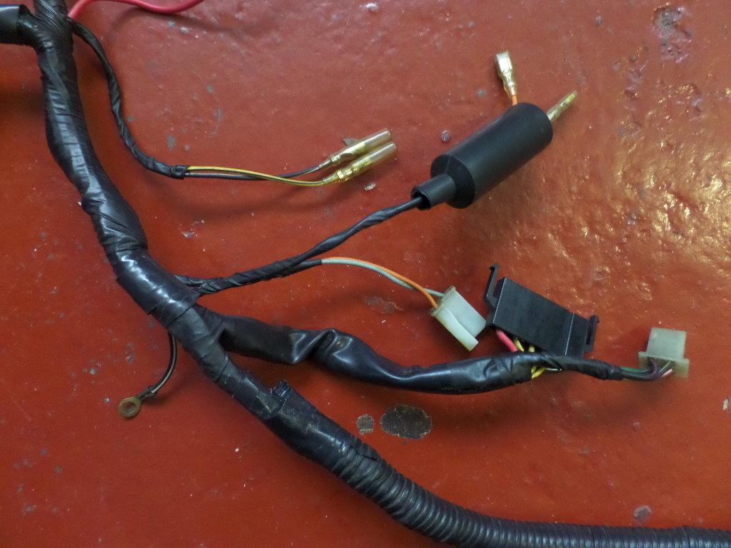 Used Rg250 Mk2 Gamma Main Harness Wiring Loom 36610 40a20 Suzuki