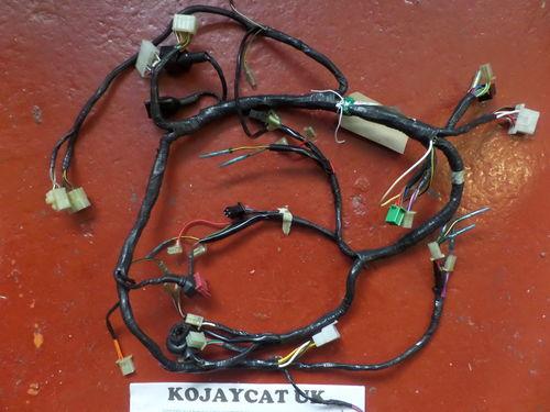 kawasaki motorcycle refurbished and cleaned wiring looms kawasaki gpx250 1997 harness wiring loom 26030 1395 used
