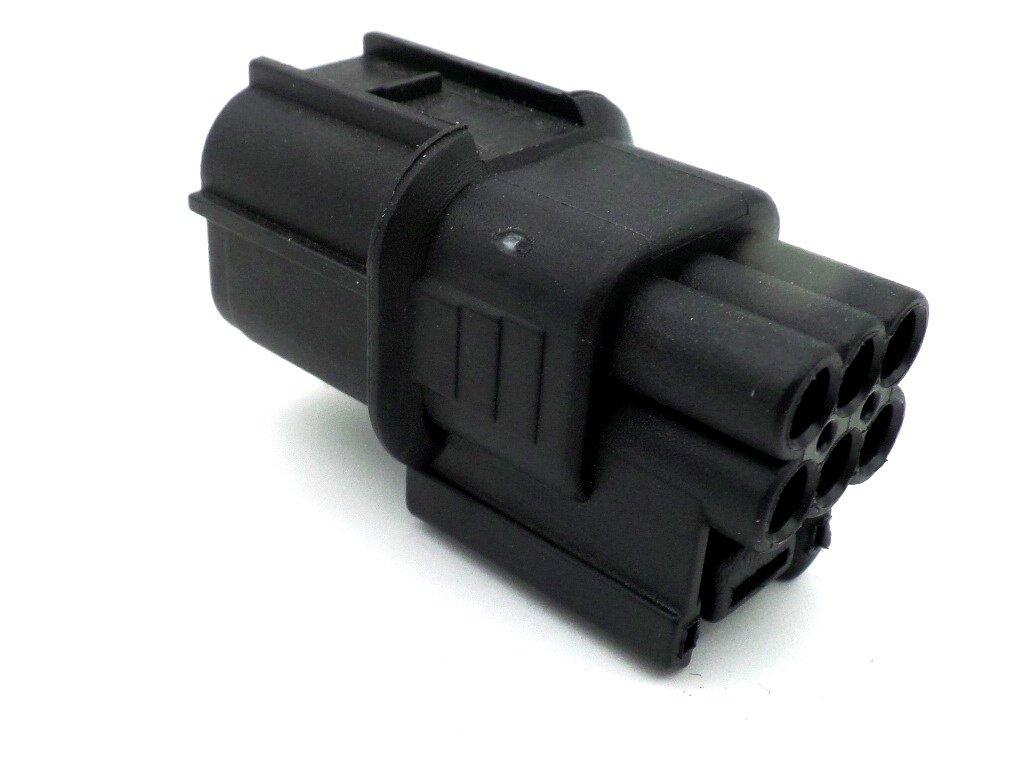 6 Way Male Hv Hvg Series Automotive Wiring Loom Connector Plug