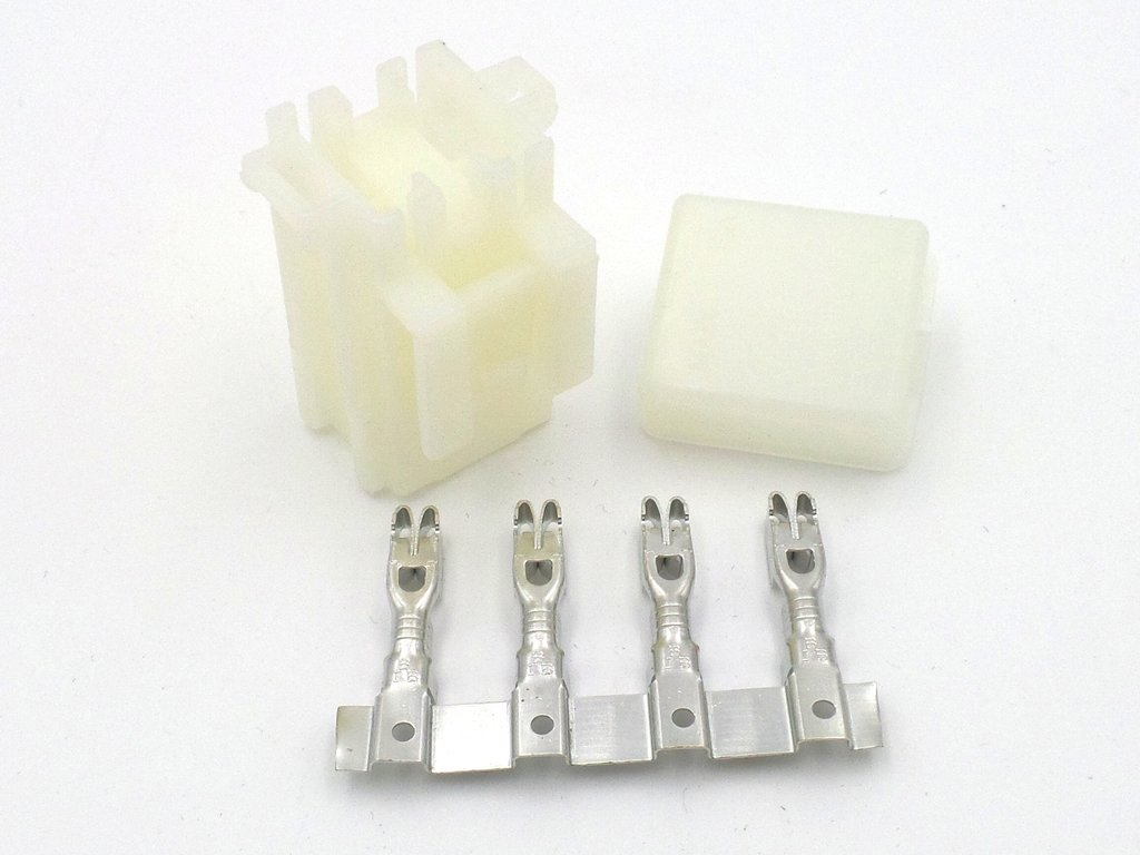 2 Way Motorcycle Bottom Entry Mini Blade Fuse Box Withterminals Automotive Crimp Terminals