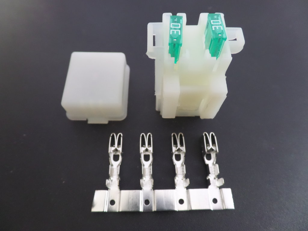 automotive low voltage (60v) fuse boxes for vehicles and boats Automotive Fuel Line Connectors
