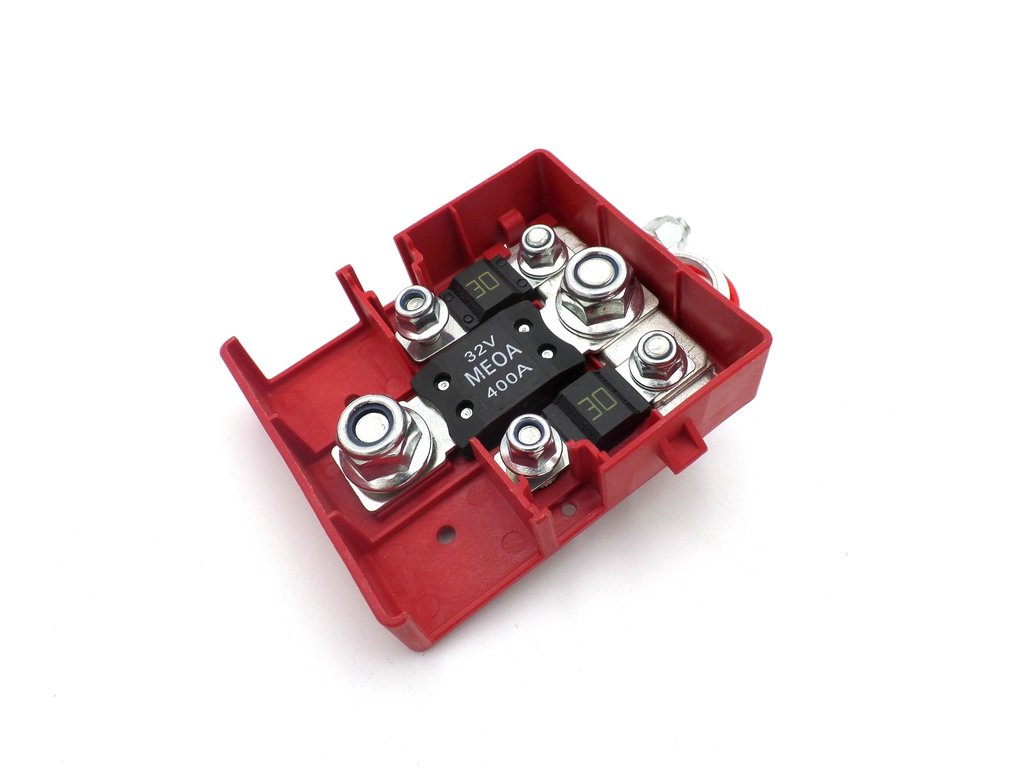 400 Amp 30 Amp 32v Vehicle Battery Cable Power Distribution Box