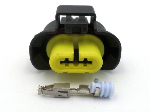 Ducati 2 Way H8 H11 Headlight Bulb Wiring Loom Connector Plug on
